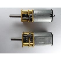 Motor Dc 12v 200rpm C/ Caixa De Redução