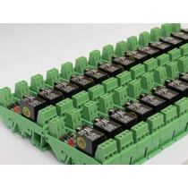 Relé Acoplador Interface 5v, 12v, 24v, 48v, 127v, 220v 100pc