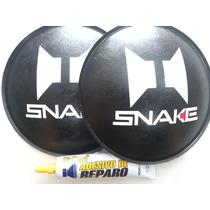 2 - Protetor Calota Para Alto Falante Snake 160mm + Cola