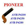 Cabo Flat Dvd Pioneer Avh-p4200 - Avh-p4250 - Avh-p4280
