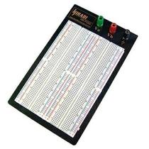 Protoboard 1660 Pontos Com Base E Bornes Hikari Hk-p200