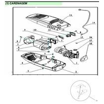 Peças De Reposição Lavadora Tekna Hlx 98 V