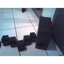 Kit Com As 6 Caixas Home Theater Sony Dav-tz140 Usadas