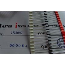 100 Diodo 1n4007 - In4007 Diodo Retificador 1amp. 1000 Volts