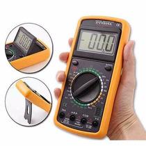 Multimetro Digital Aviso Sonoro Leitor Lcd
