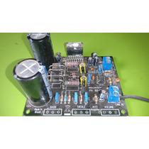 Placa Montada Amplificador 100 Watts Rms Com Tda 7293/94