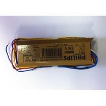 Reator Eletromagnético 2x40w 220v Philips