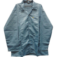 Jaleco Anti Estático Esd Azul Gg Pc450ggasl