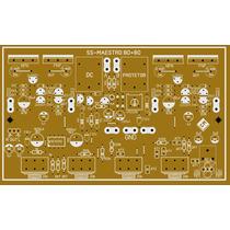 Kit2 Placa Amplificador Maestro 80+80w Com Pre Protetor Dc