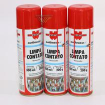 Kit - 3 Limpa Contato Wurth 300 Ml