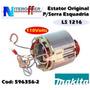 Estator/bobina Original P/serra Esquadria Ls1216 110v Makita