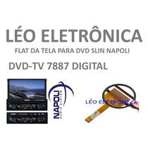Flat Cable Para Retrátil Napoli Modelo Dvd-tv7887 Digital