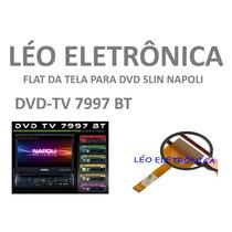 Flat Cable Para Retrátil Napoli Modelo Dvd-tv7997 Bt