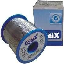 Solda Estanho Azul 500g 1.0mm 60x40 Fluxo Ra(t2) Cobix (744)