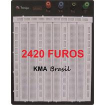 Protoboard 2420 Pontos Bronze + Níquel + Abs Minipa Mp-2420a