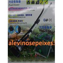 Aspirador P/ Lago Piscina C/remoto Coletor Residuos 110v Jad