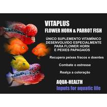 Vitaplus Flower Horn & Parrot Fish 120ml