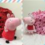 Mochila Peppa Pig Com Peppa Em Pelúcia - Pronta Entrega