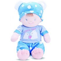Boneca De Pelúcia Bebê Fantasia Ursinho, Da Buba Toys