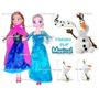 Boneca Frozen Anna Ou Elsa Ou Olaf Filme Desenho Elza Ou Ana