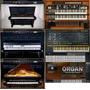 Vst De Pianos Addictive Keys + Organ E Sintetizador
