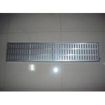Ralo Linear Tipo Grelha Em Perfil De Alumínio! 10 X 100 Cm