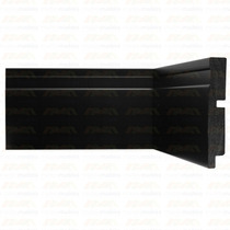 Rodapé Santa Luzia Black 3457 16mm X 10cm X 2,40m - Caixa