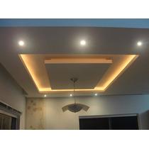 Gesso Drywall Sanca/nichos/forros/paredes Instalação Rápida