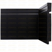 Rodapé Santa Luzia Black 3480 16mm X 15cm X 2,40m - Caixa