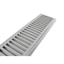 10 Peças Ralo Linear Grelha Perfil De Alumínio! 15x100 Cm