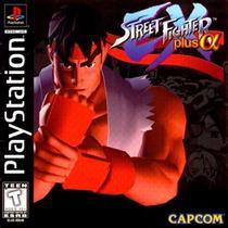 3 Jogos - Coleção Street Fighter Ex / Patch Ps2 Frete Grátis