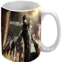 Caneca Watch Dogs Ps3 Xbox 360 Xbox One Ps4