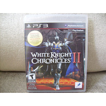 Rpg White Knight Chronicles 2 & 1 Do Ps3 + 2 Detonados
