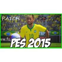 Patch Pes 2015 - Ps3 Pro Evolution Soccer 2015 (atualização)