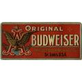 Placa Decorativa(21449)cerveja Budweiser,bares,churrasqueira