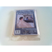 Capa De Cabelereiro Plast- Leo De Plástico 100% Poliester