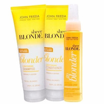 Sheer Blonde Go Blonder Lightening John Frieda Kit