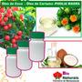 Óleo De Coco + Pholia Magra300mg + Oleo Decartamo 1000ml 12