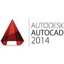 Autcad 2013 Ou 2014 Inglês E Português 32 & 64 Bits + Curso