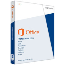 Microsoft Office Professional 2013 Box Lacrado Original Fpp