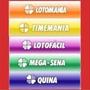 Kit 15 Planilhas De Loterias