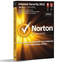 Licença Norton Internet Security 2012 10 Usuários - Symantec