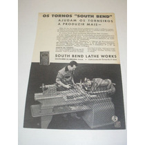 ( L - 290/p ) Propaganda 2 Guerra Tornos South Blend