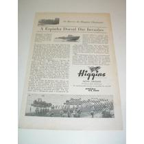 ( L - 290/ P ) Propaganda 2 Guerra Lanchas Higgins
