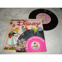 Vinil Historinhas Disney Com Livro E Disco - Usado Arte Som