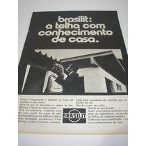 ( L - 290/g ) Propaganda Antiga Telhas Brasilit