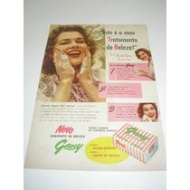 ( L- 290/ P ) Propaganda Antiga Sabonete Gessy