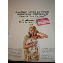 ( L - 290 ) Propaganda Antiga Sabonete Palmolive