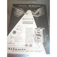 ( L - 290/ P ) Propaganda Antiga Aparelho Dentário - Atlante
