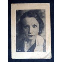 Ketty Petrowwa Atriz Artista Foto Antiga